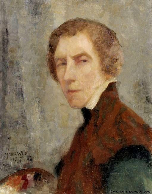 Автопортрет, 1917