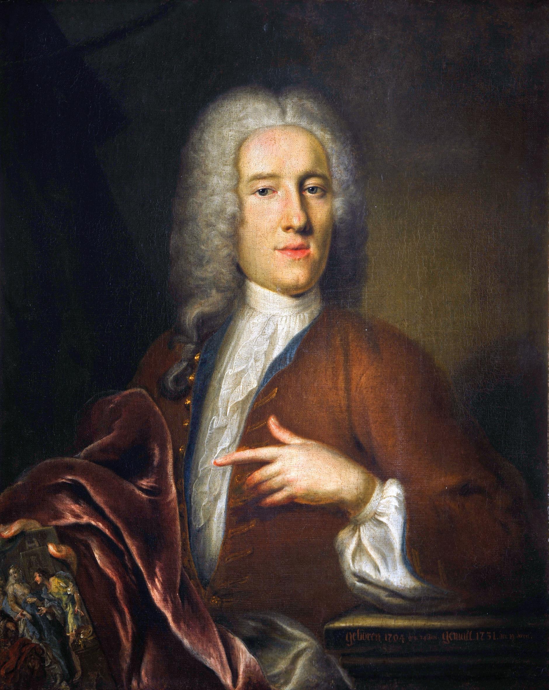 Мужской портрет. 65.3 x 92.4 см. частная коллекция