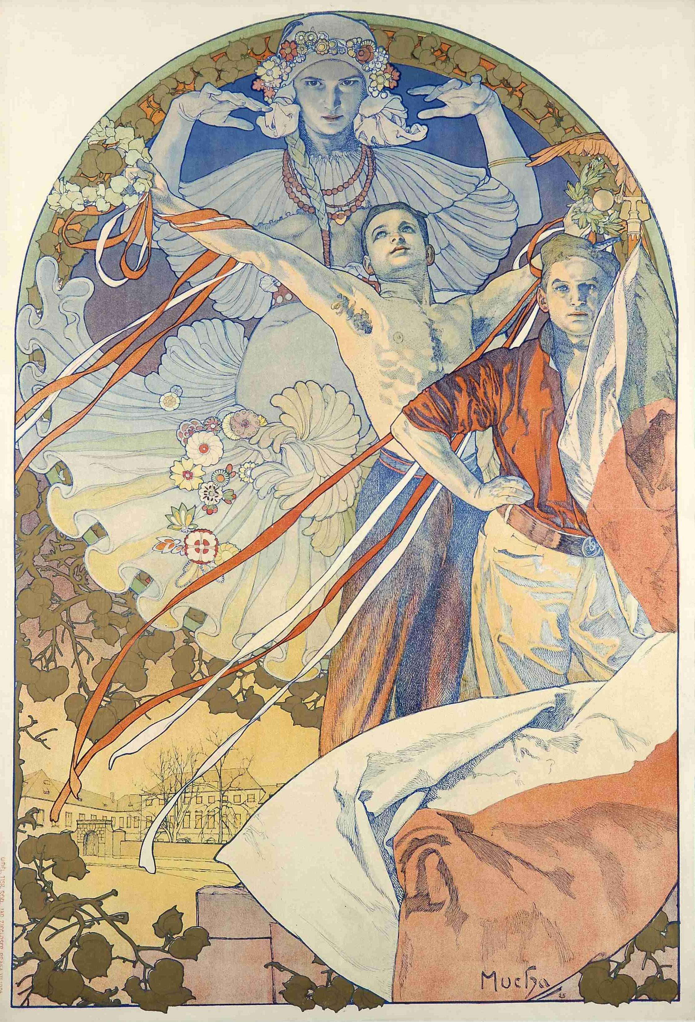 8-й фестиваль 'Сокол'-1910