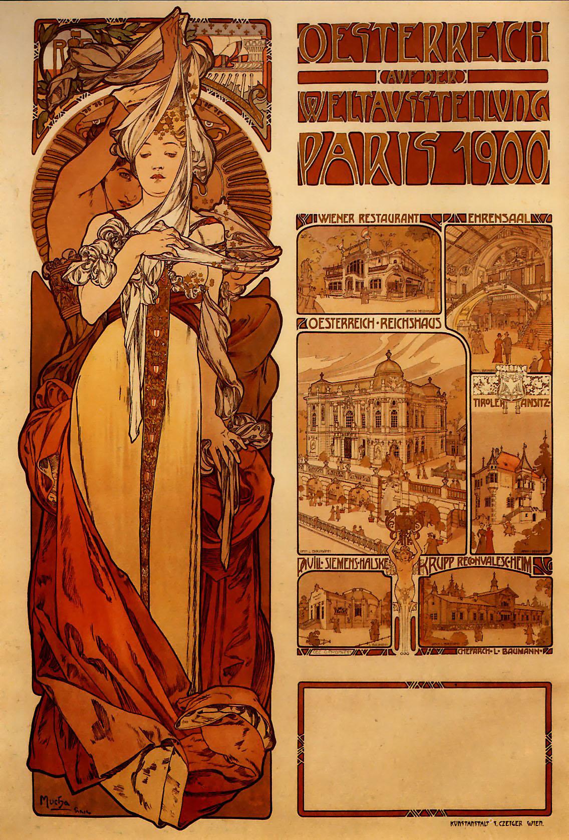 Австрия на Всемирной выставке в Париже-1900