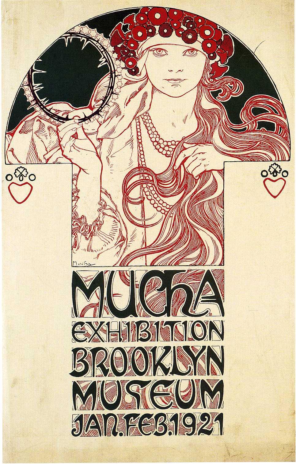 Афиша для Бруклинской музейной выставки-1921