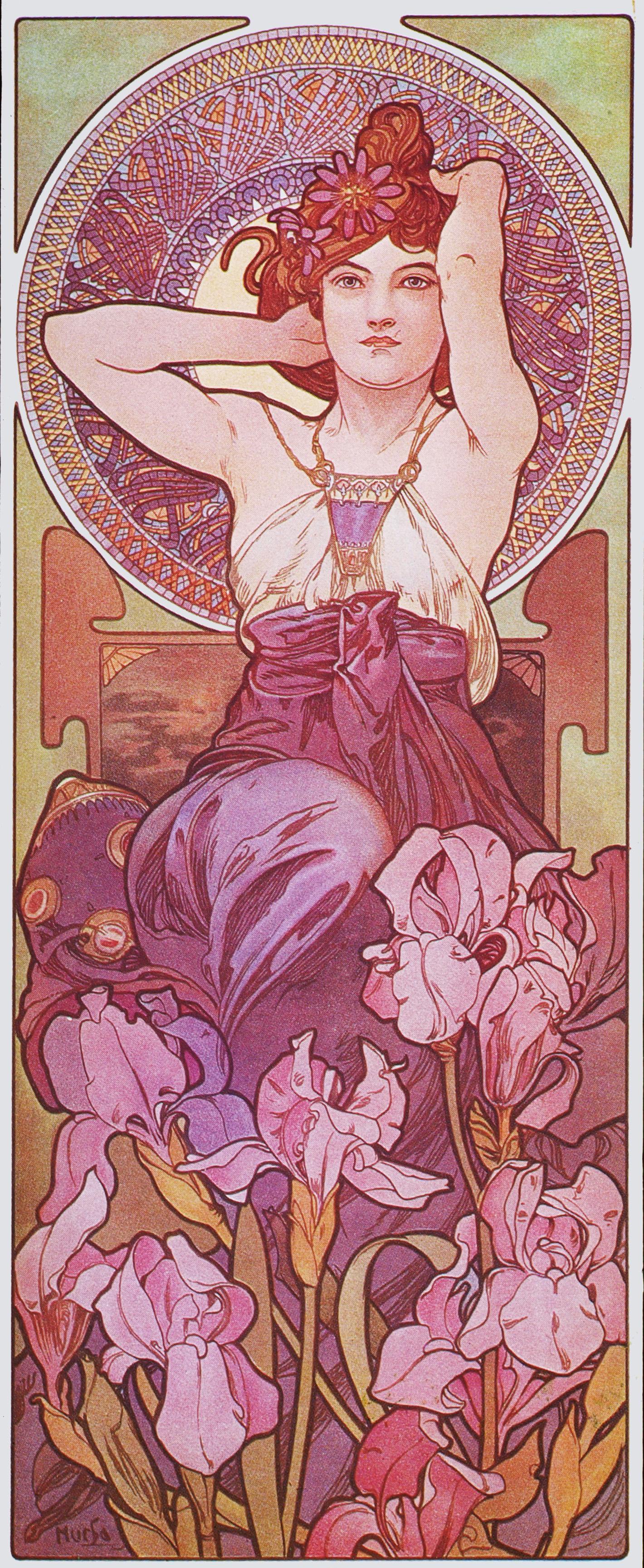 Драгоценные камни-Аметист-1900