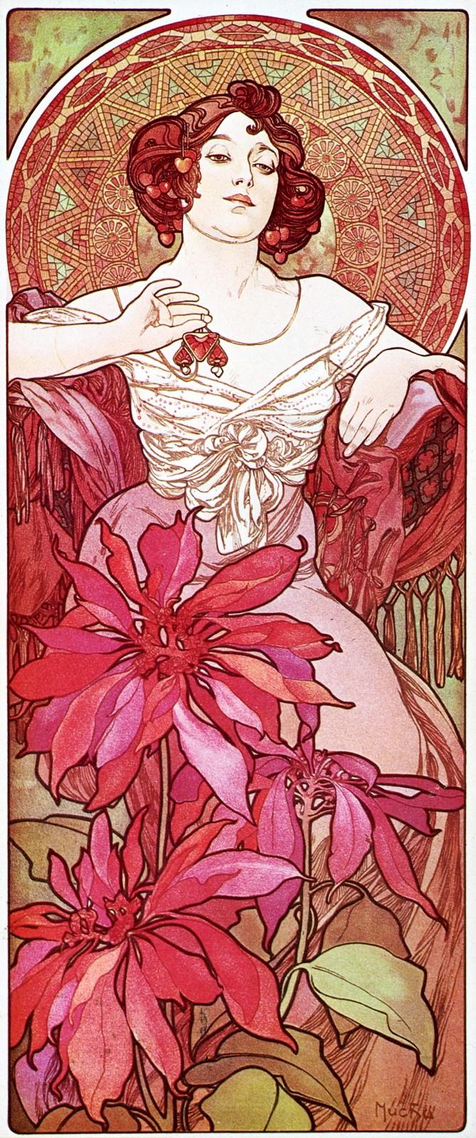 Драгоценные камни-Рубин-1900