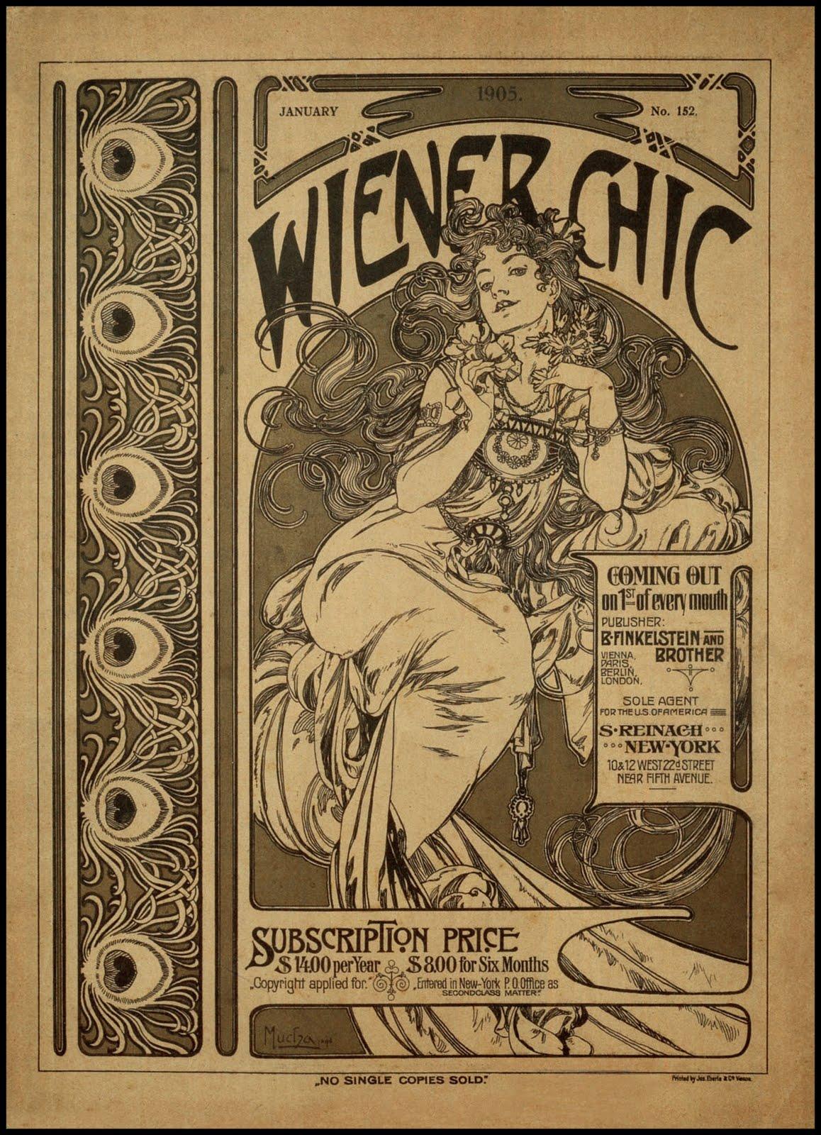 Иллюстрация журнала Wiener Chic-1905