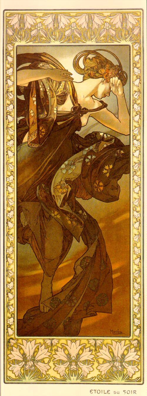 Луна и звёзды. Вечерняя звезда-1902