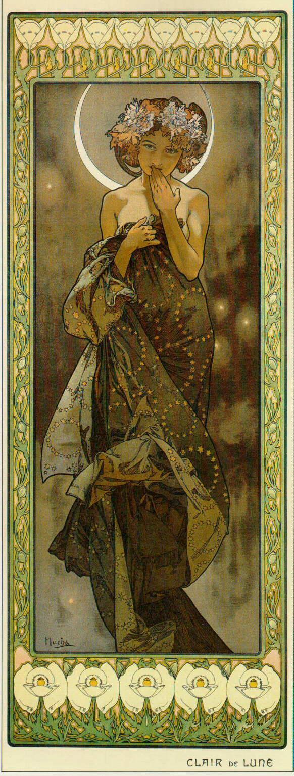 Луна и звёзды. Лунный свет-1902