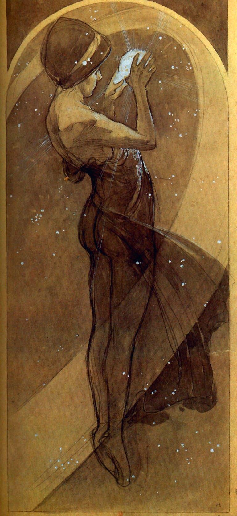 Луна и звёзды. Северная звезда-1902