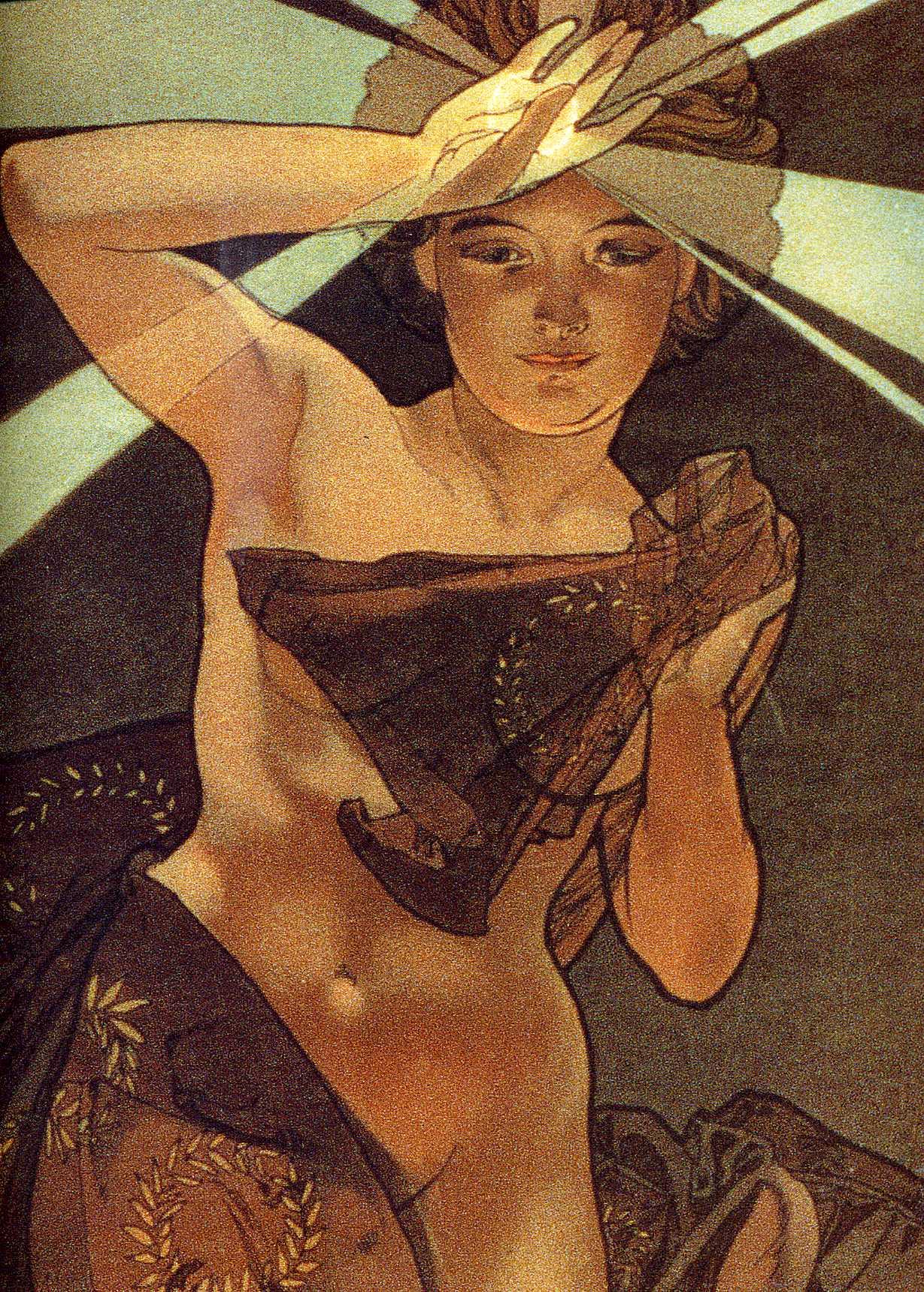 Луна и звёзды. Утренняя звезда. Фрагмент-1902
