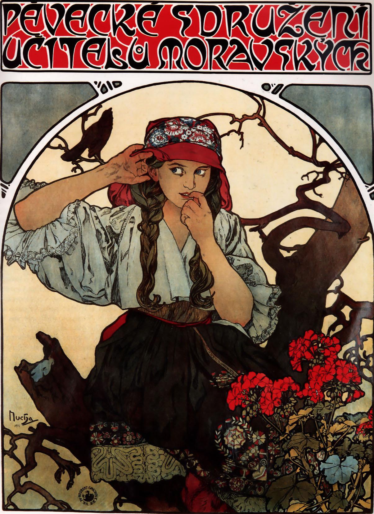 Моравский хор учителей. Фрагмент-1911