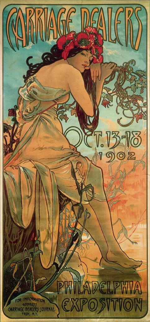 Плакат Carriage Dealers-Philadelphia Exposition-1902