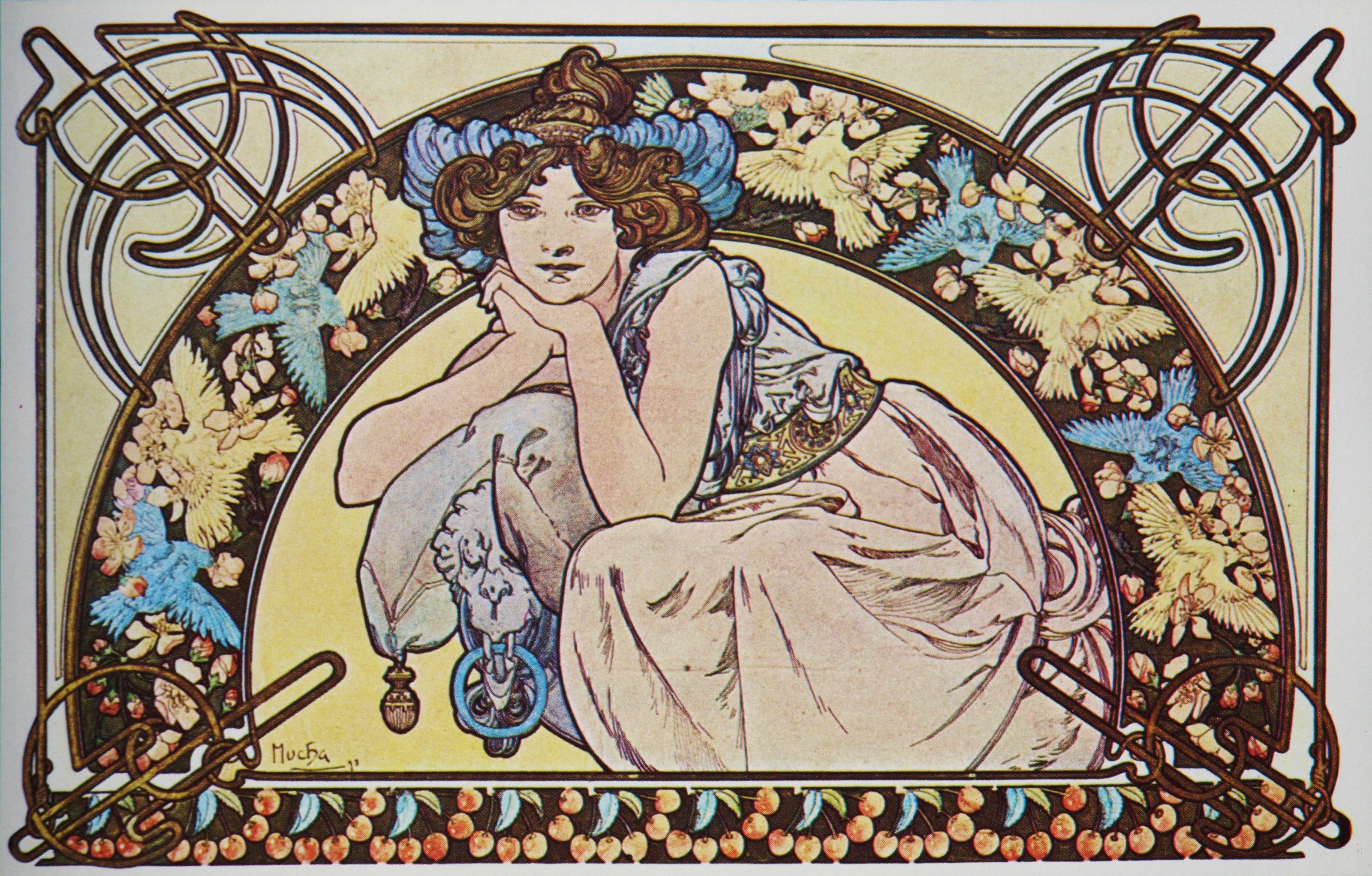Плакат Cherry Blossom-1898
