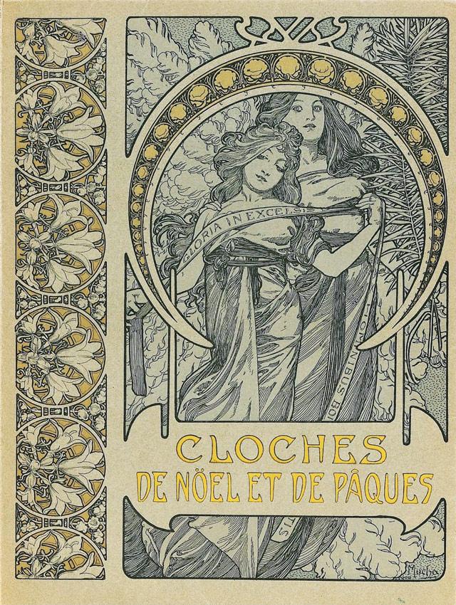Плакат Cloches de Noel-1900