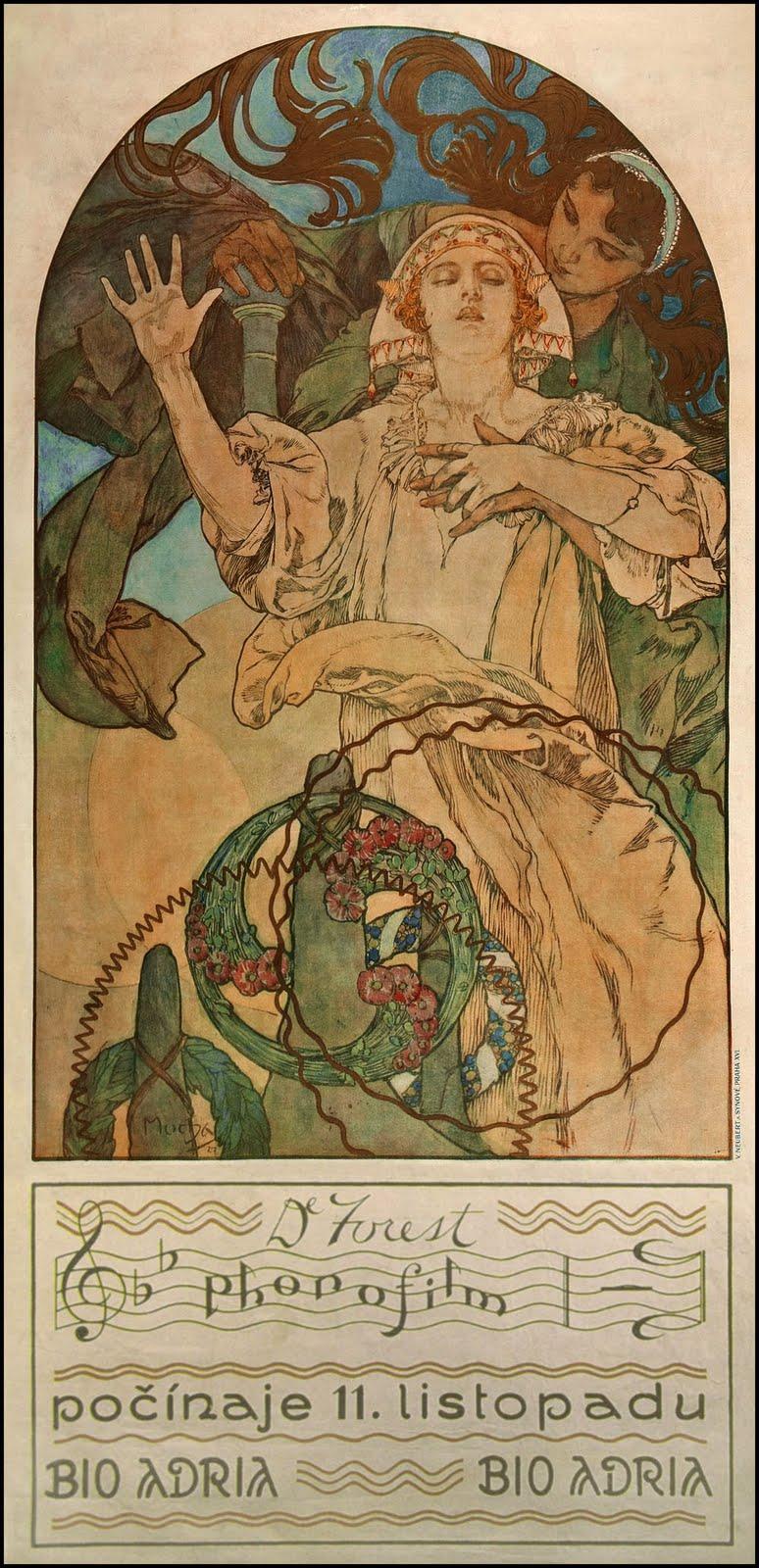 Плакат De Forest phonofilm-1927