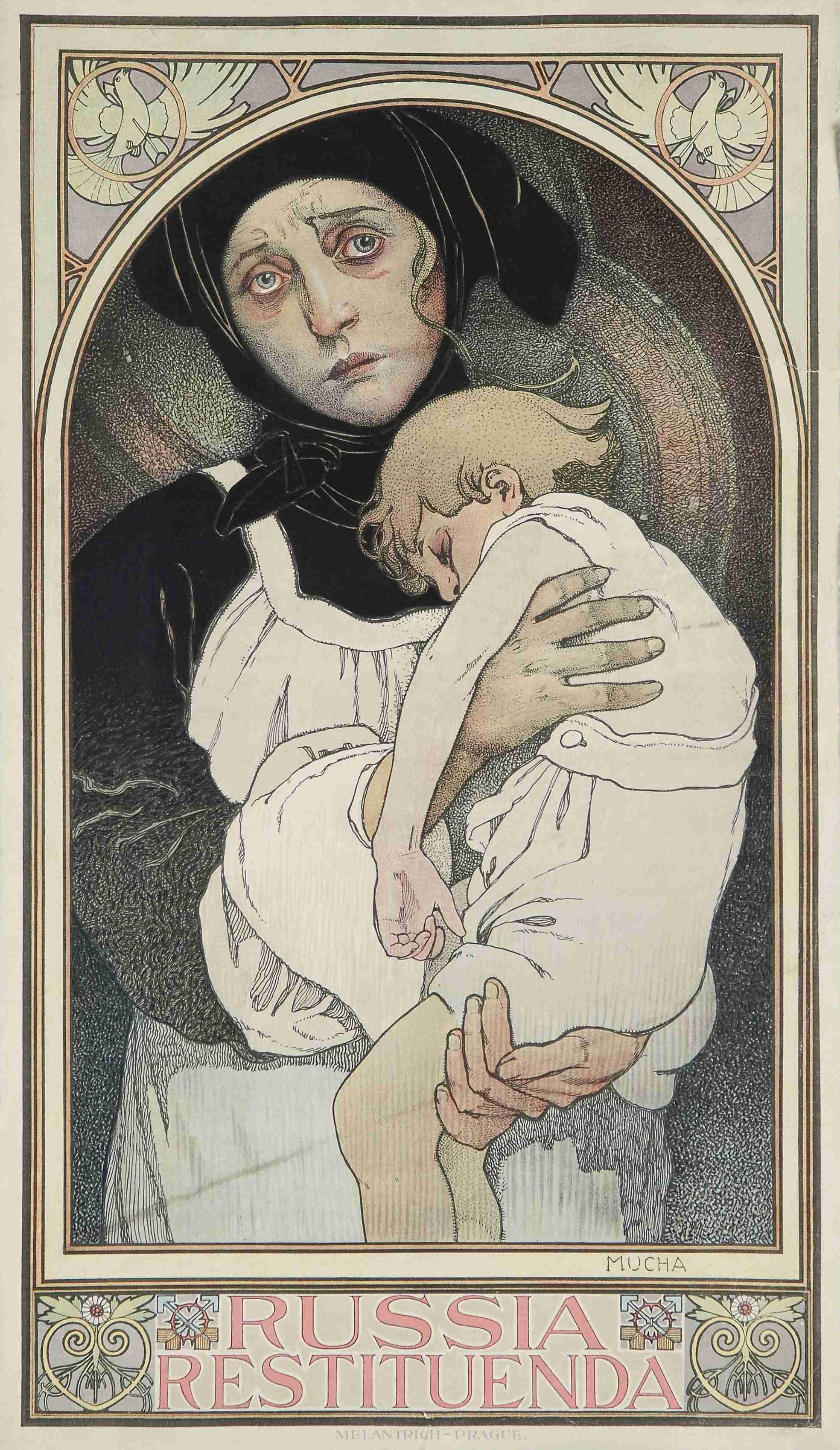 Плакат Russia Restituenda-1922