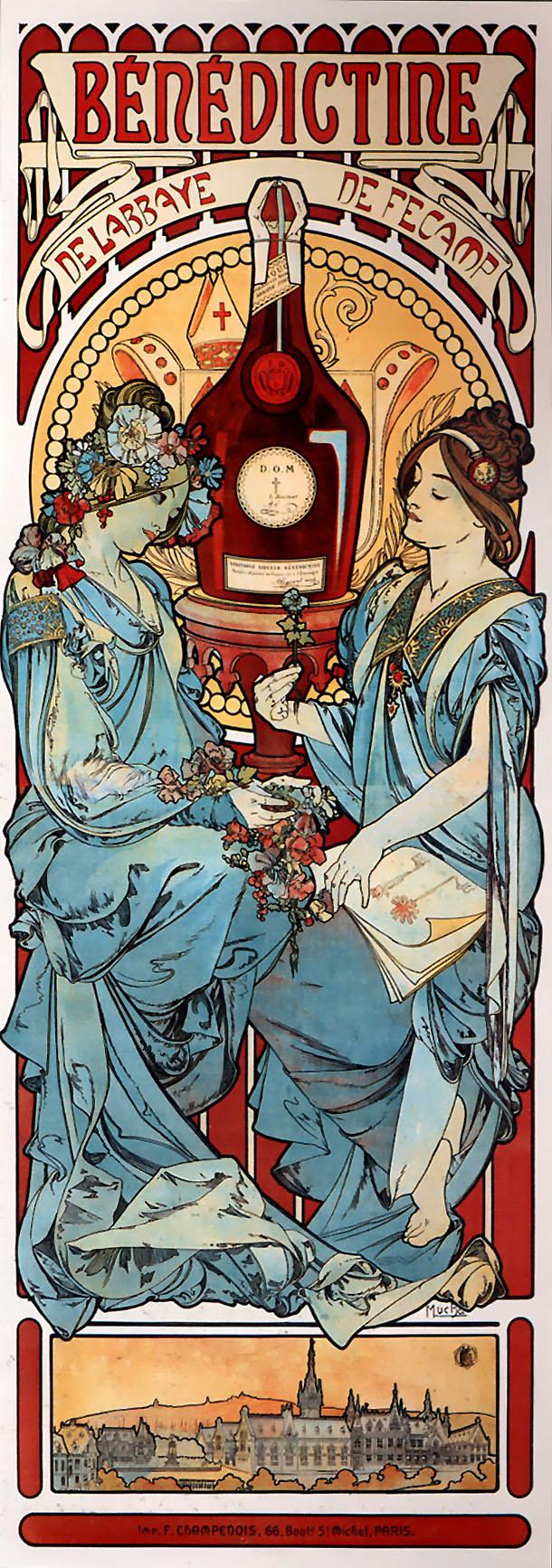 Реклама Benedictine-1898