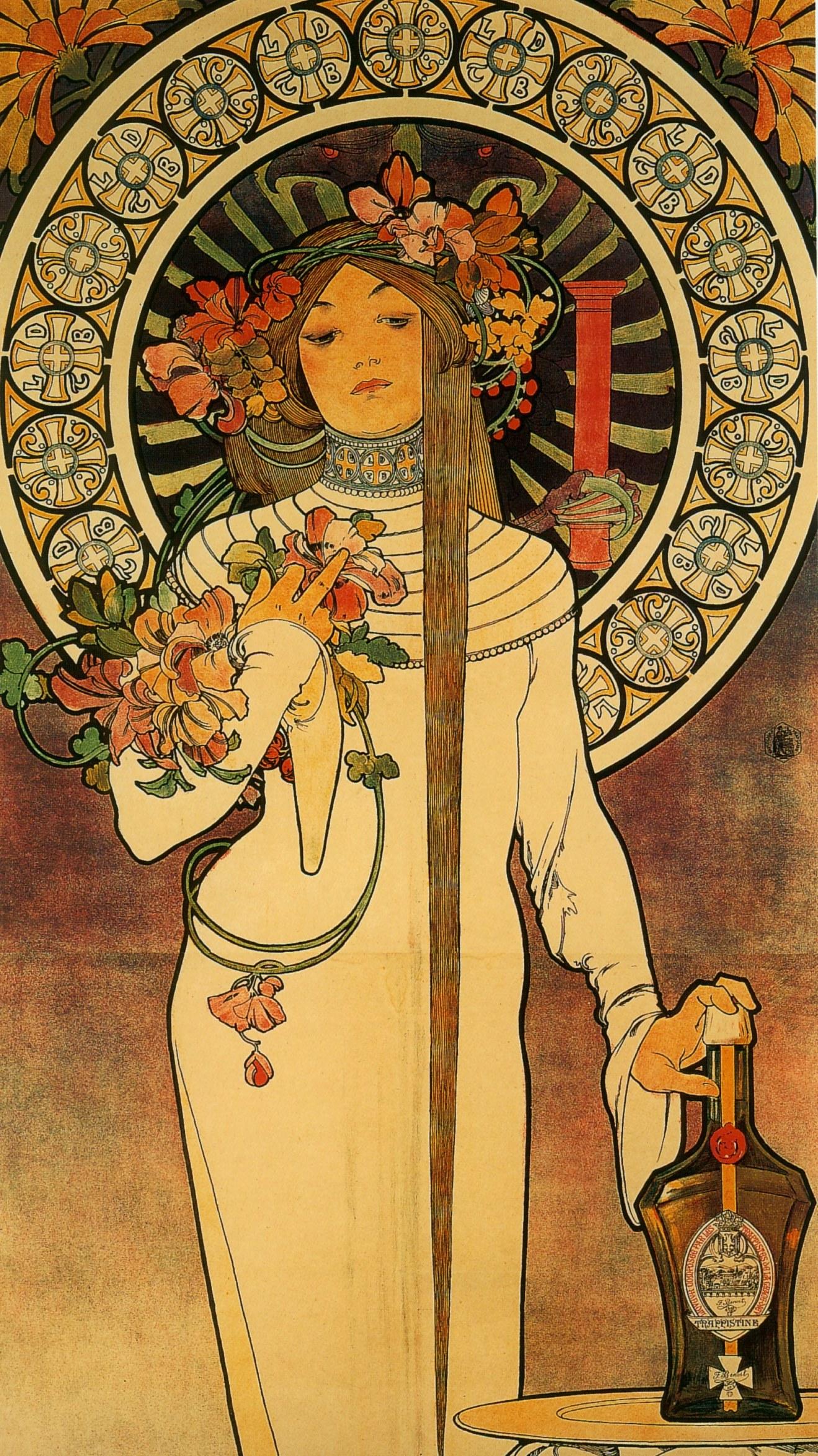 Реклама La Trappistine. Фрагмент-1897
