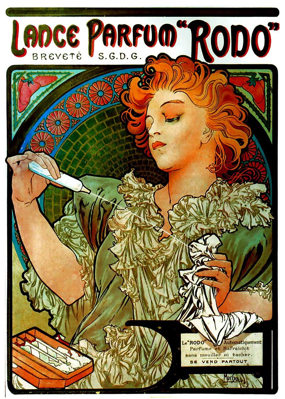 Реклама парфюмерии торговой марки Rodo-1896