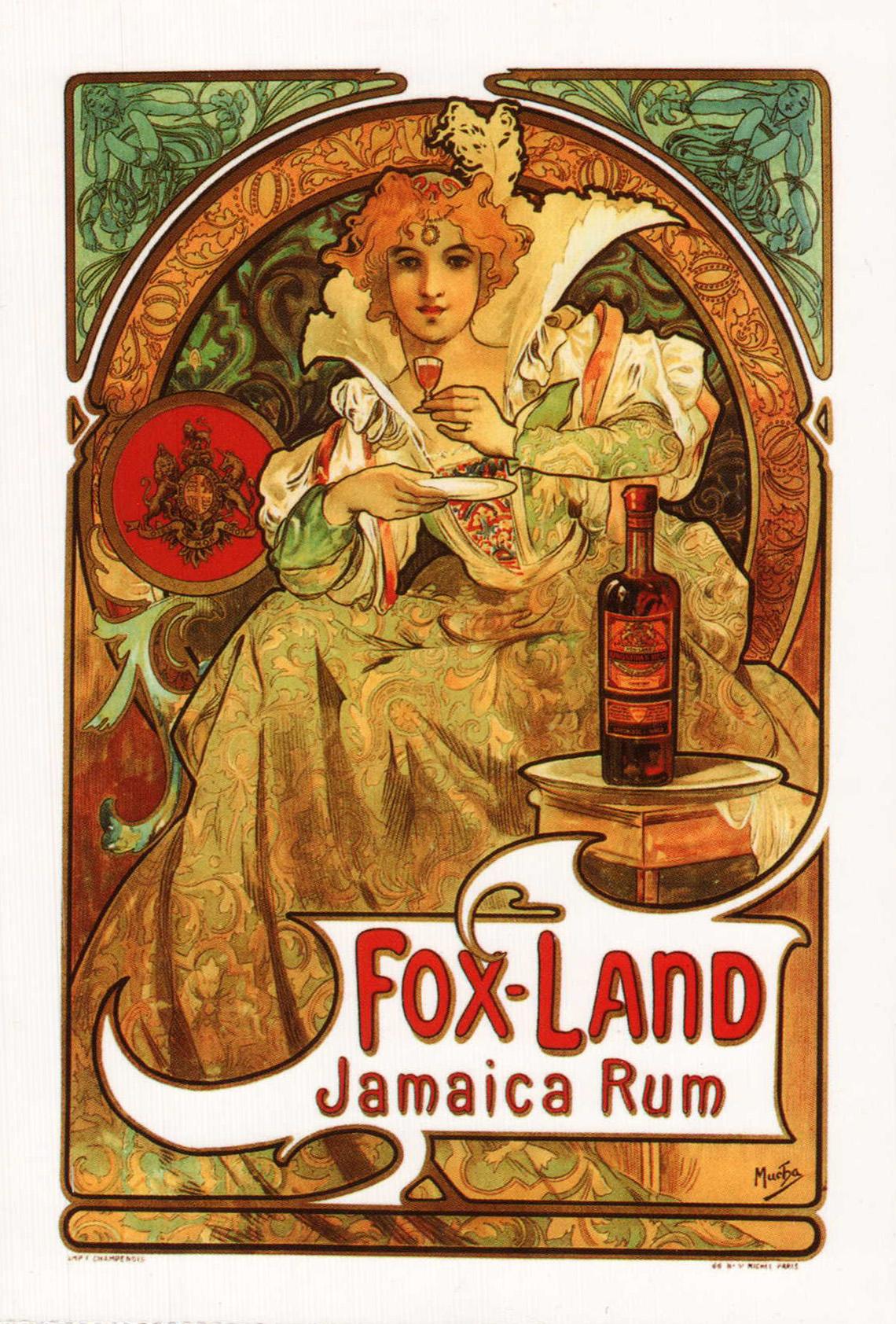 Реклама рома Fox-Land