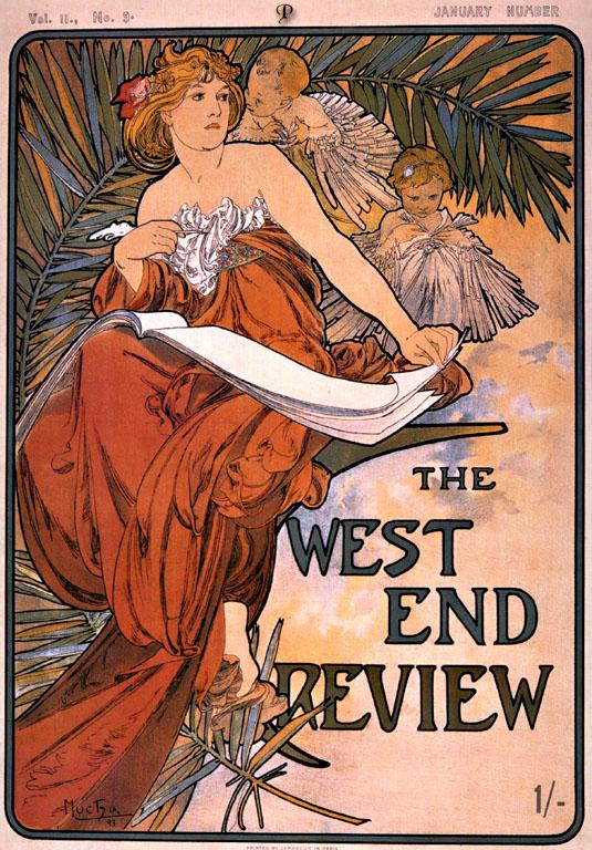 Реклама туристического агентства - The west end review-1898