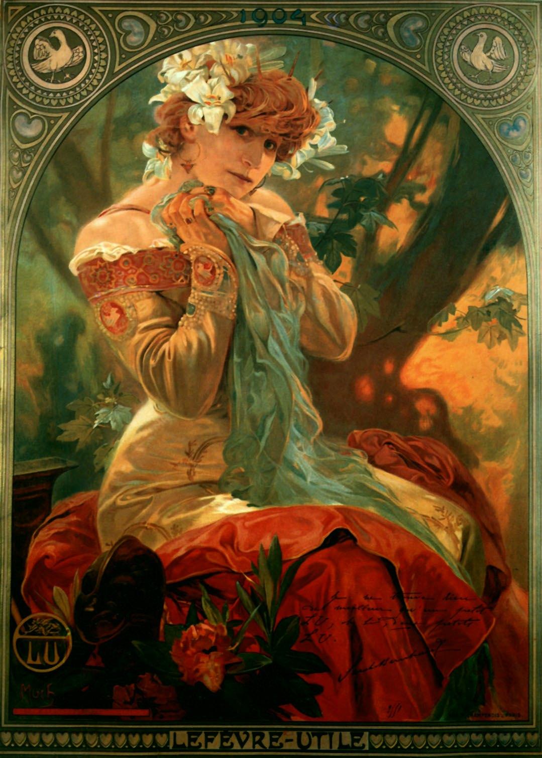 Рекламные плакаты Lefevre Utile-1903