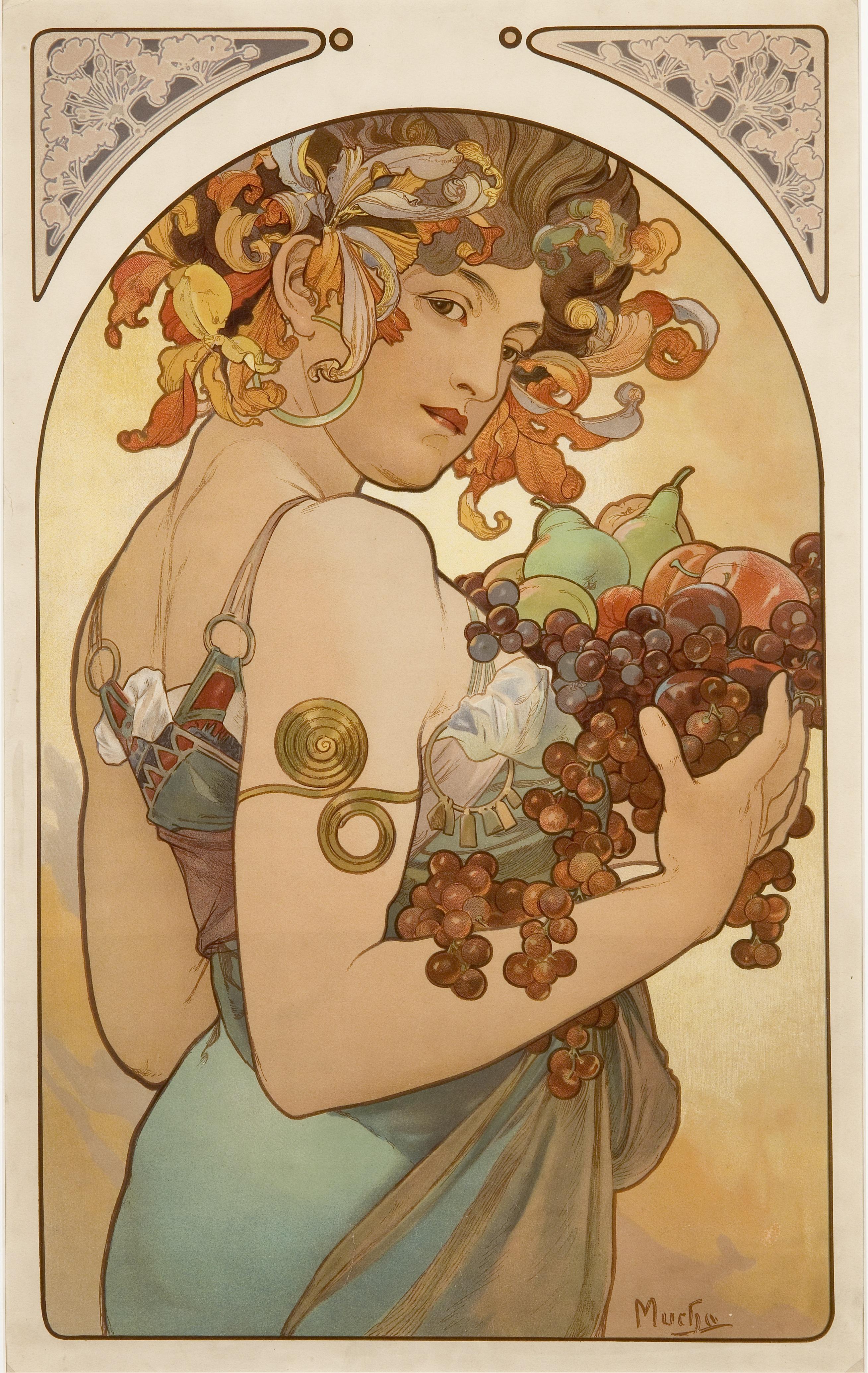 Фрукты-1897