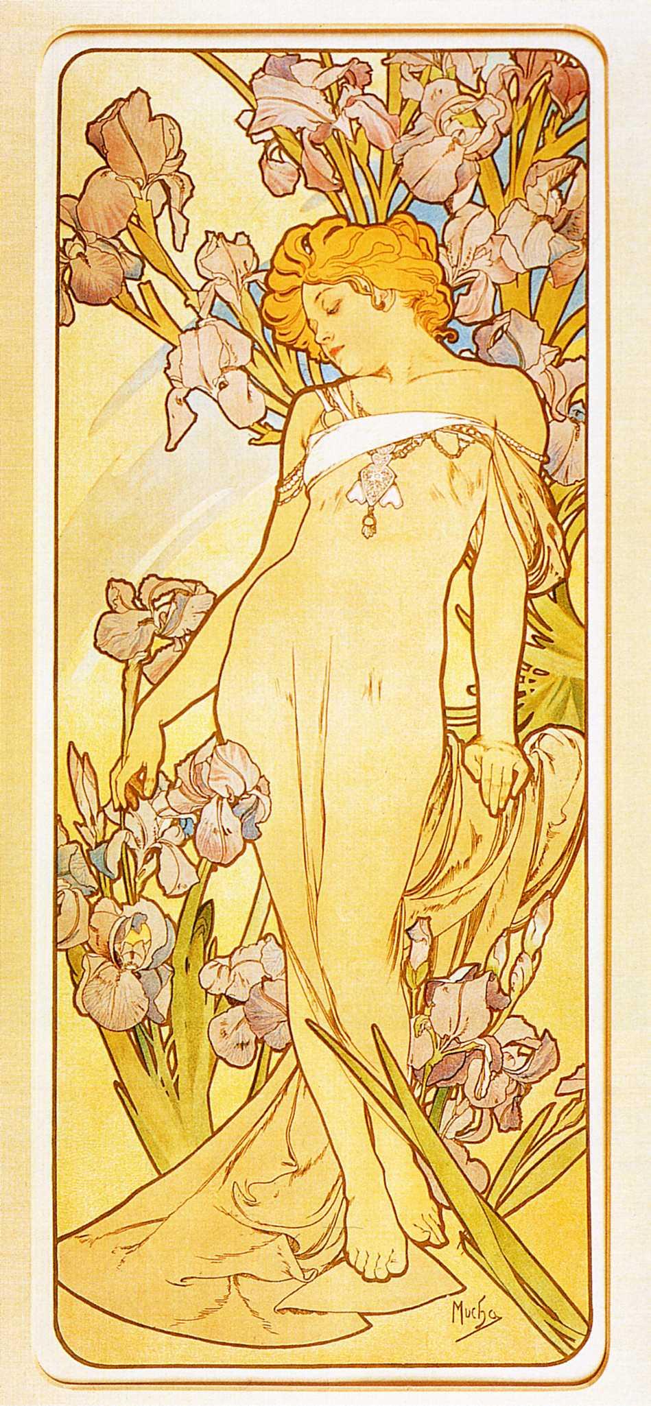 Цветы. Ирис-1898