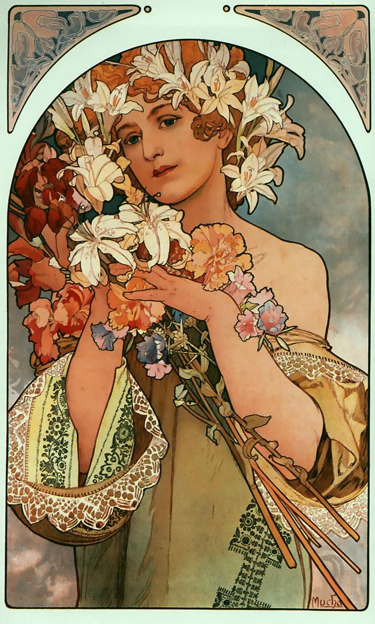 Цветы-1897