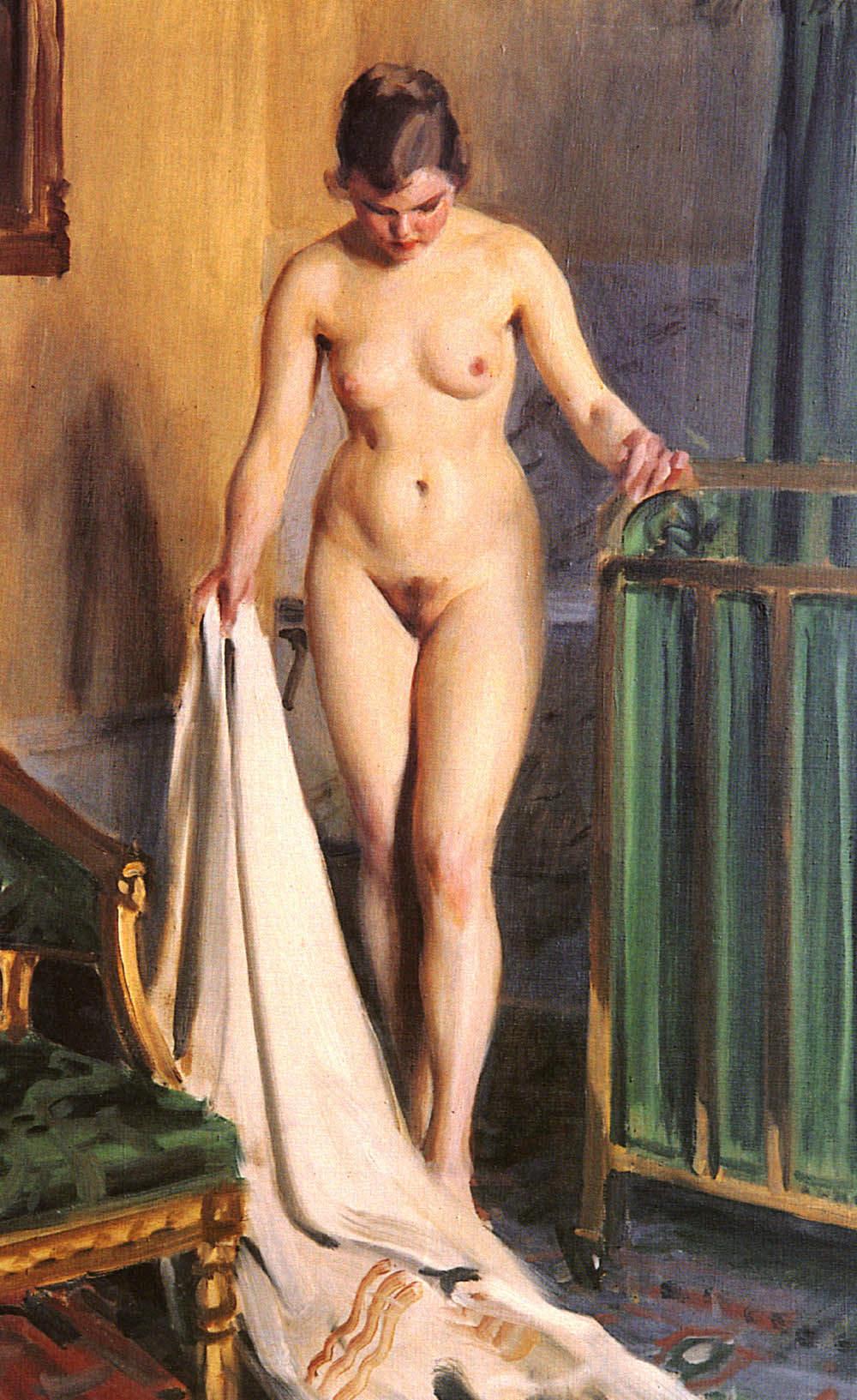 Anders Leonard Zorn. 1860-1920. В спальне