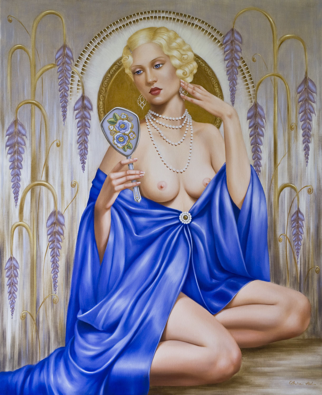 Catherine Abel. род в 1966. Рапсодия в голубом. Частная коллекция