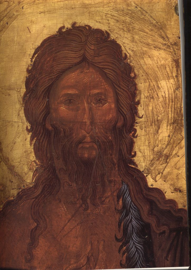 П.19а. Св. Иоанн Предтеча 1363г. (Лик)
