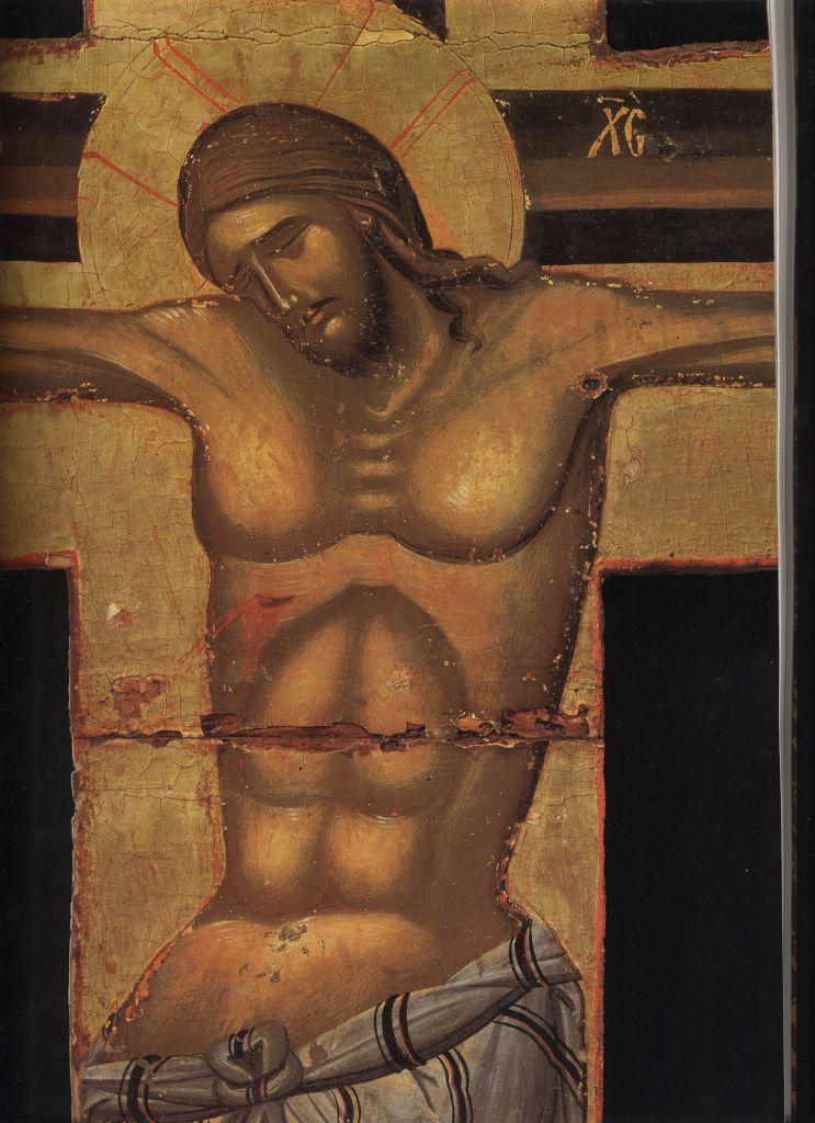 П.24а.Крест-Распятие нач. 15в. (182 на 134)(Спас)