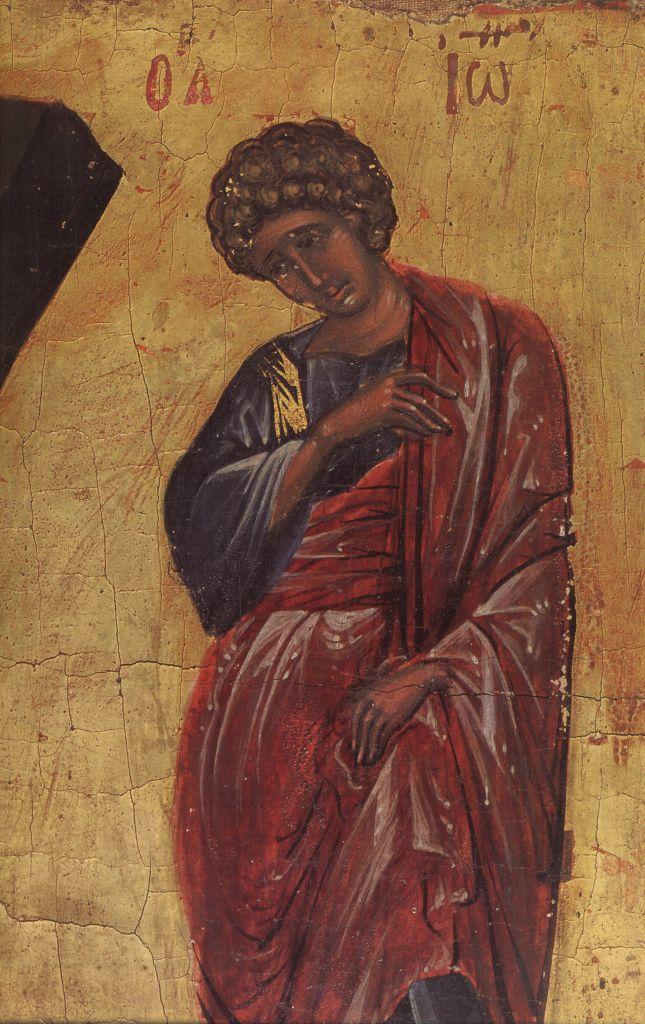 П.24в.Крест-Распятие нач. 15в. (Иоанн Богослов)