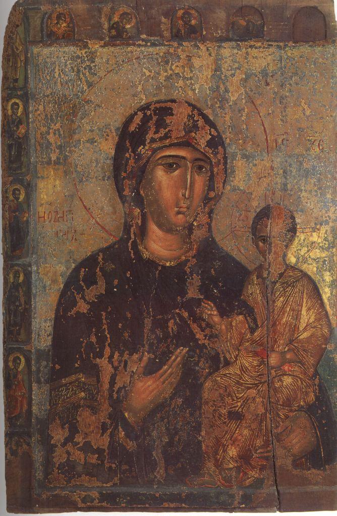 П.26.Богородица Одигитрия с 12 апостолами нач. 15в. (151 на