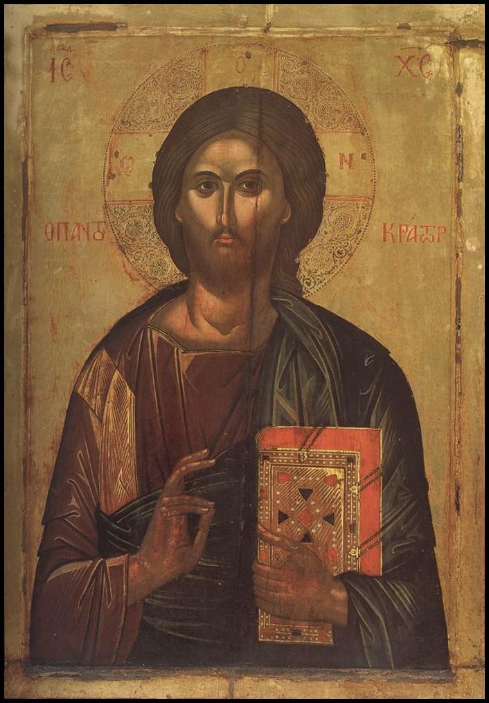 П.35.Христос Пантократор- Феофан 1535-1546 (130на96)