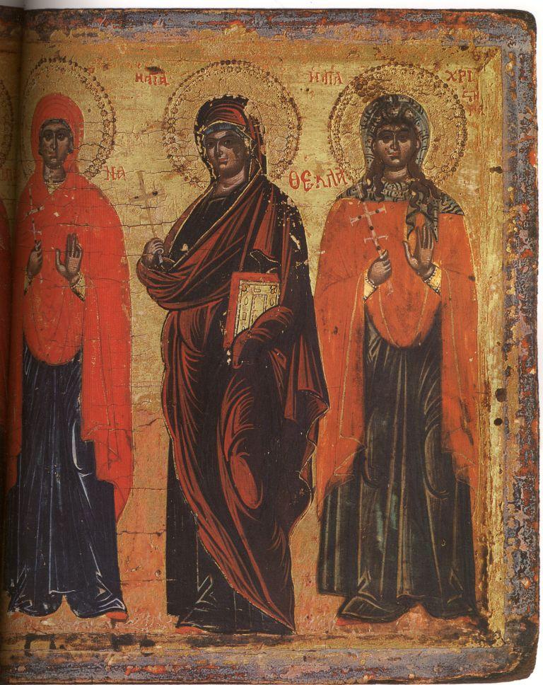 Па.109-2. Св.Анастасия, Варвара, Евфимия, Марина,Фекла, Хрис