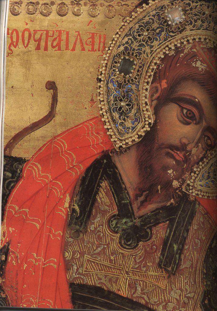 Па.123а. Св. Феодор -лик(53,5 на 38)  нач 18в