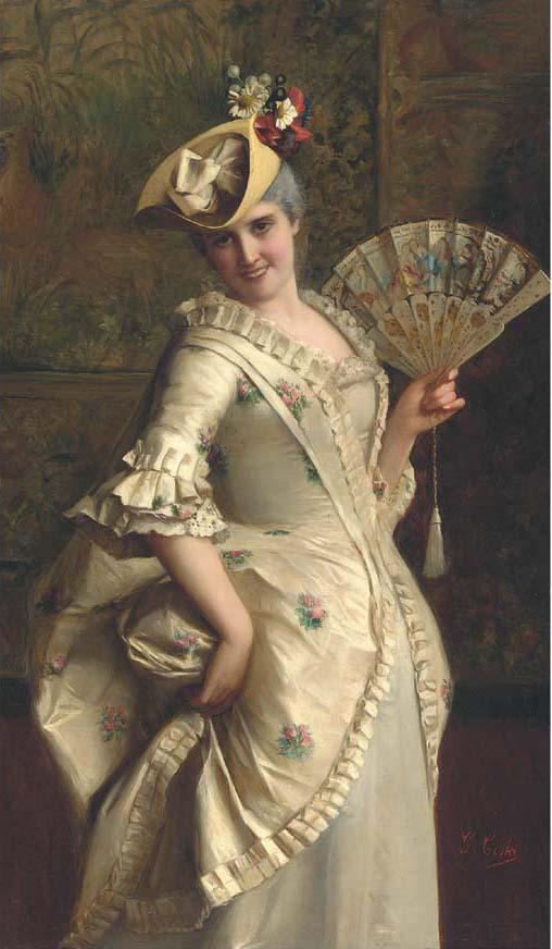 Una donna elegante