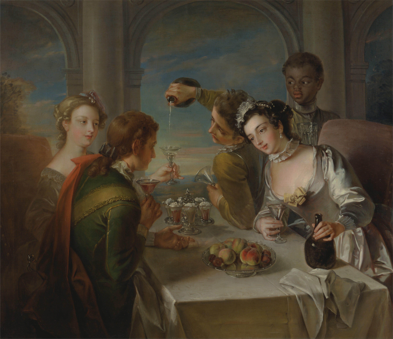 Philippe Mercier - The Sense of Taste