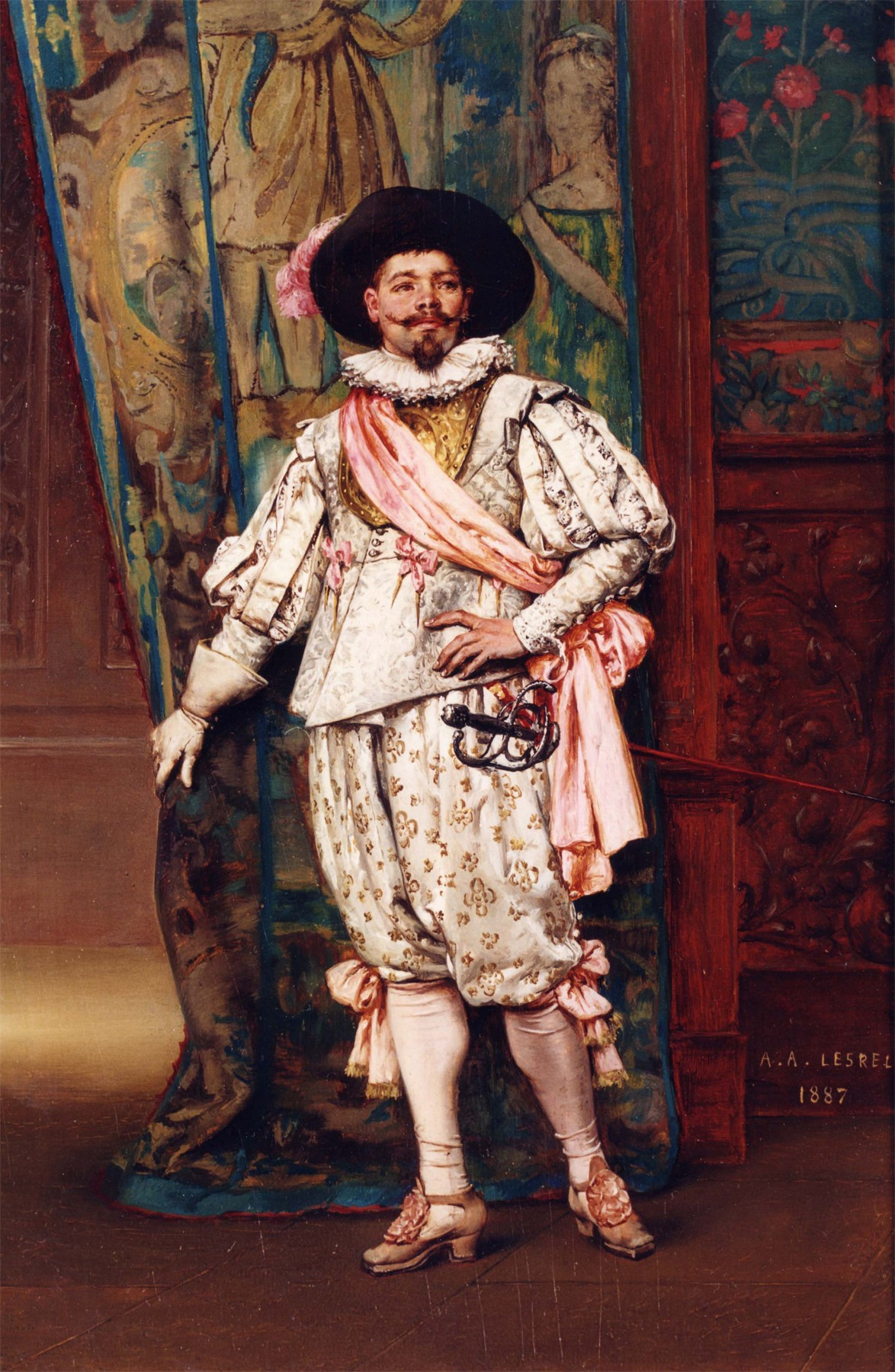 Adolphe Alexandre Lesrel - The Cavalier - 12143-2426