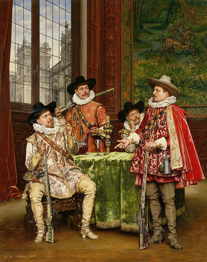 the-musketeers-tale-adolphe-alexandre-lesrel-