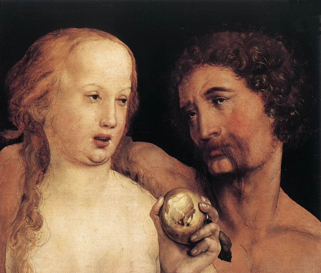 Adam and Eve. 1517