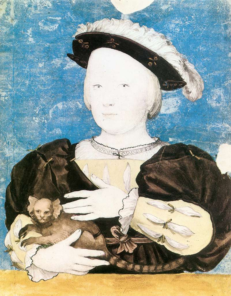 Edward, Prince of Wales, with Monkey. 1541-42