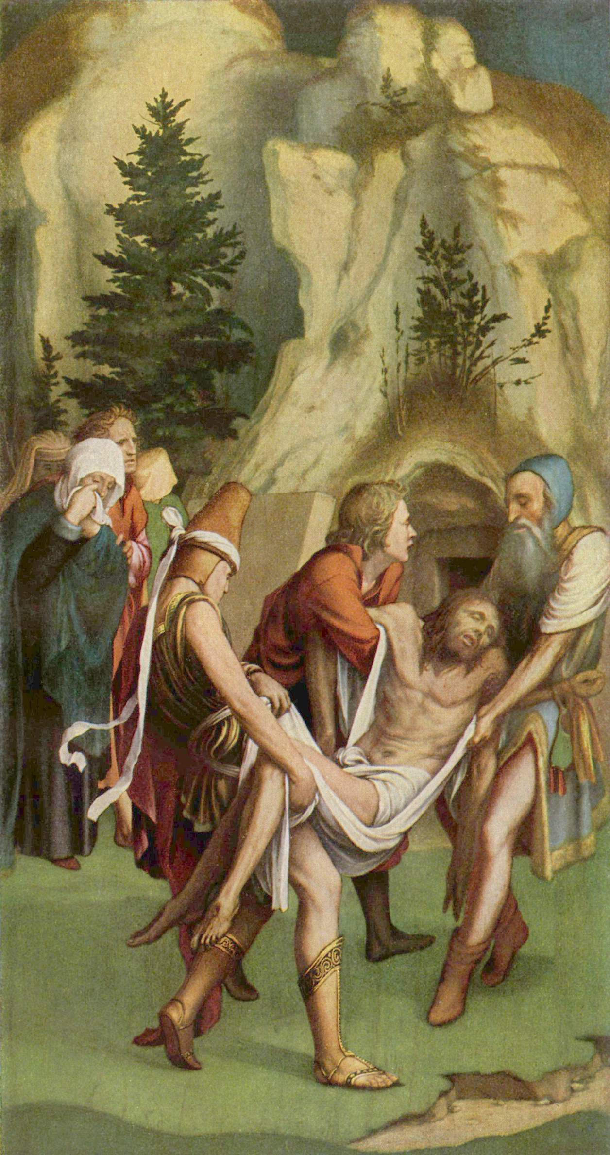 Entombment of Christ. 1516-26