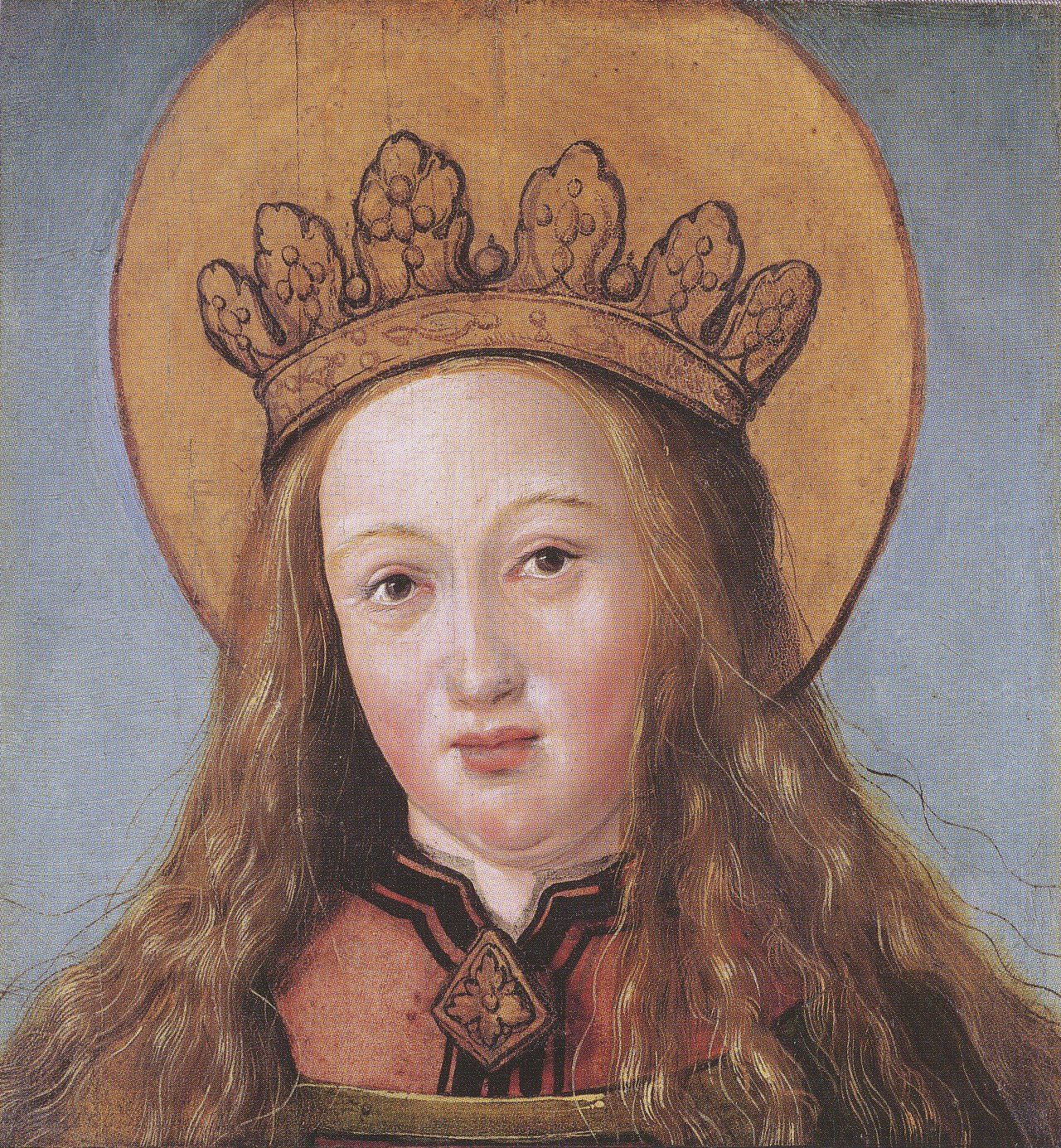 Head of a Female Saint. c.1515-16