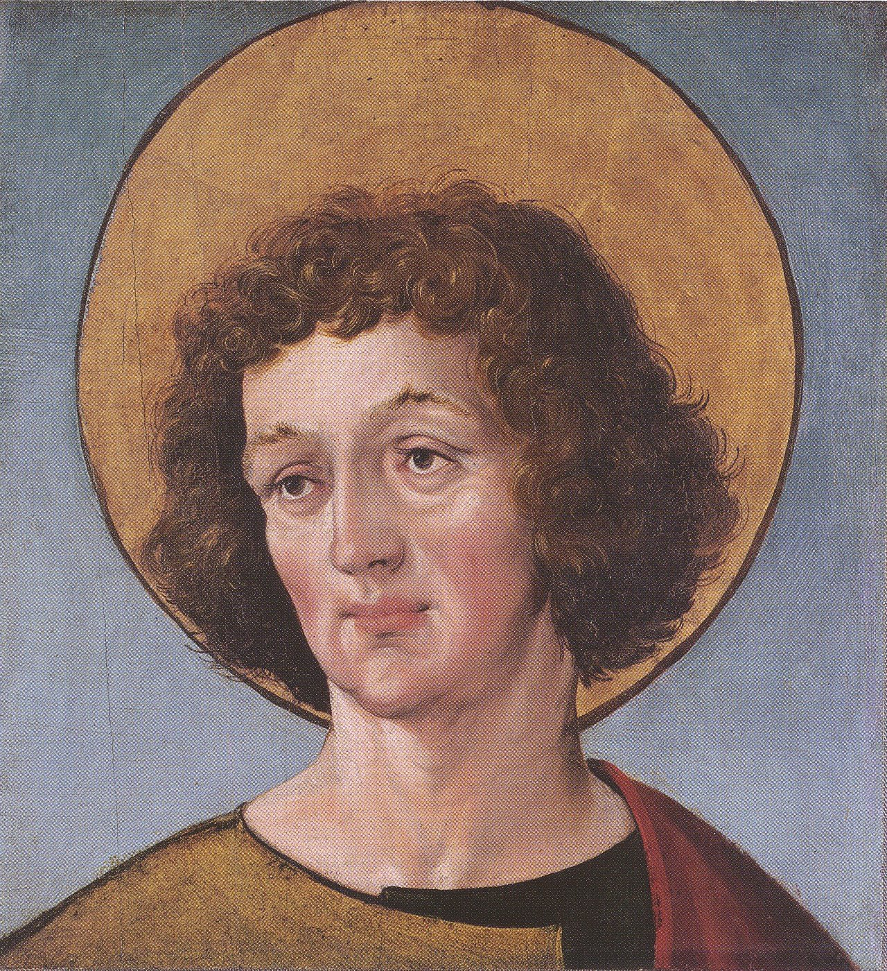 Head of a Male Saint. c.1515-16