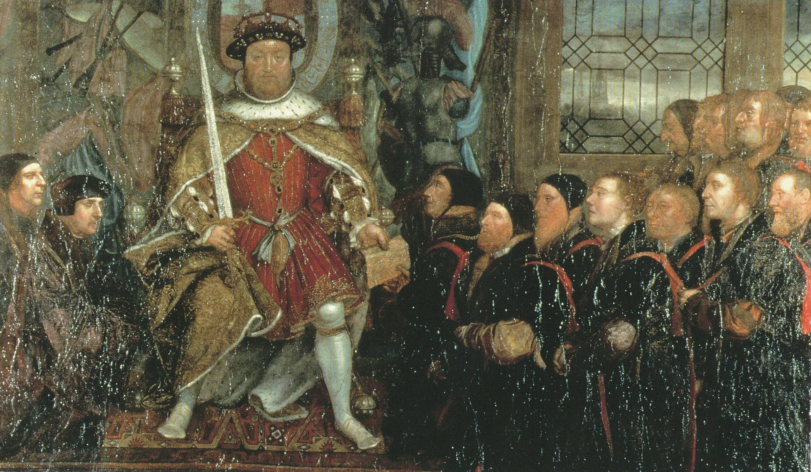 Henry VIII and the Barber Surgeons. c.1543