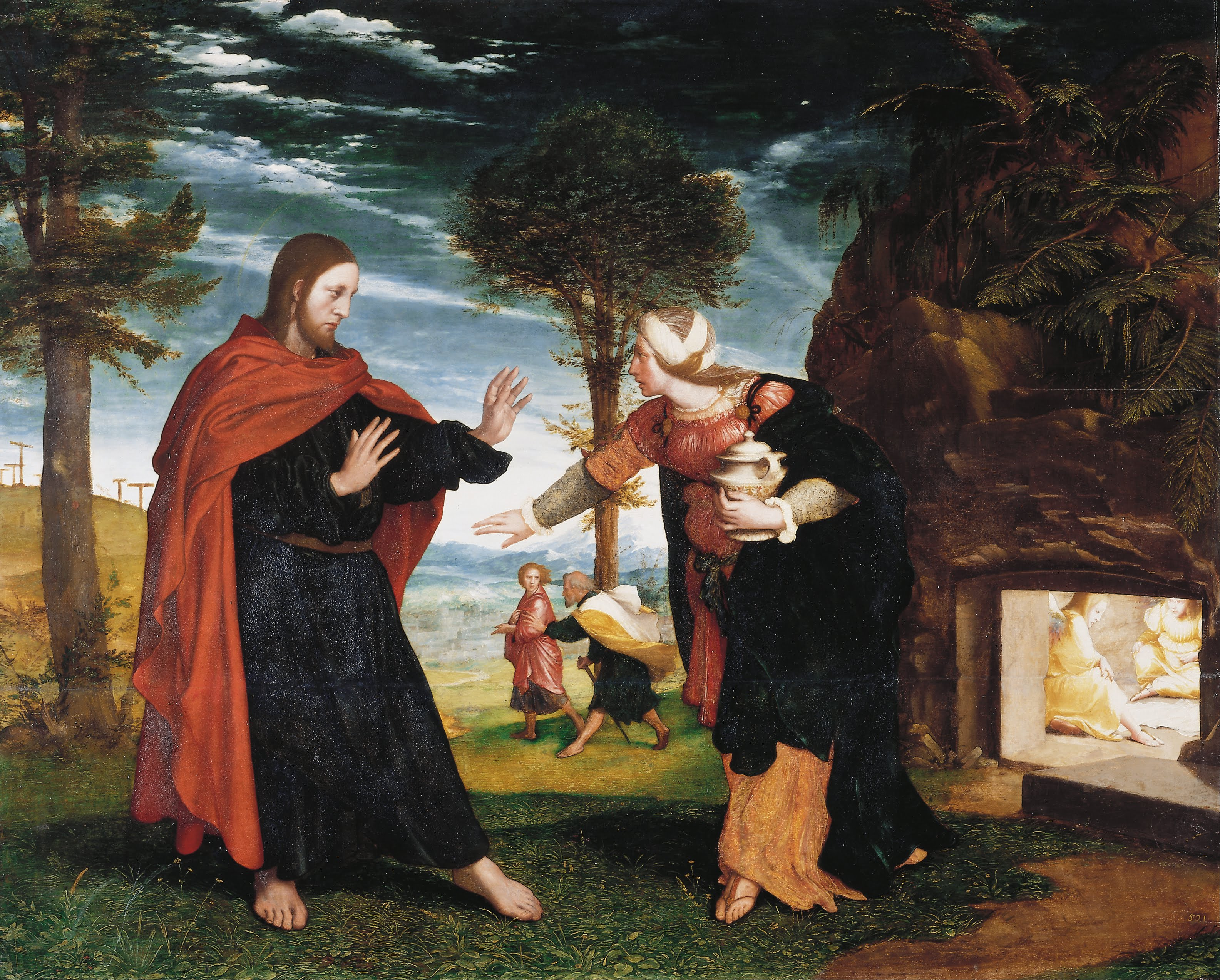Noli Me Tangere. 1526-1528 (Royal Collection of the United Kingdom)