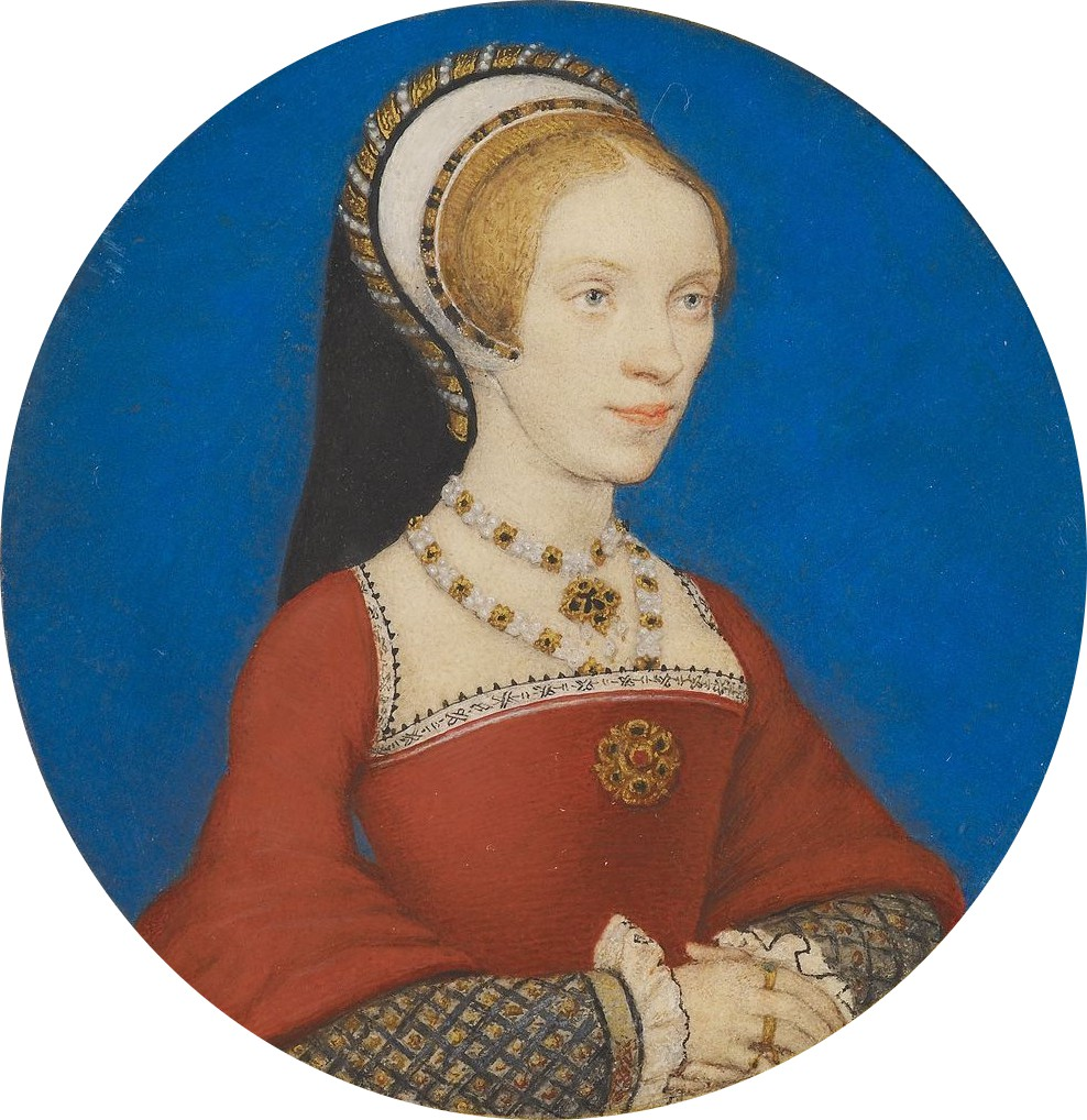 Portrait Miniature of Elizabeth, Lady Audley. c.1538