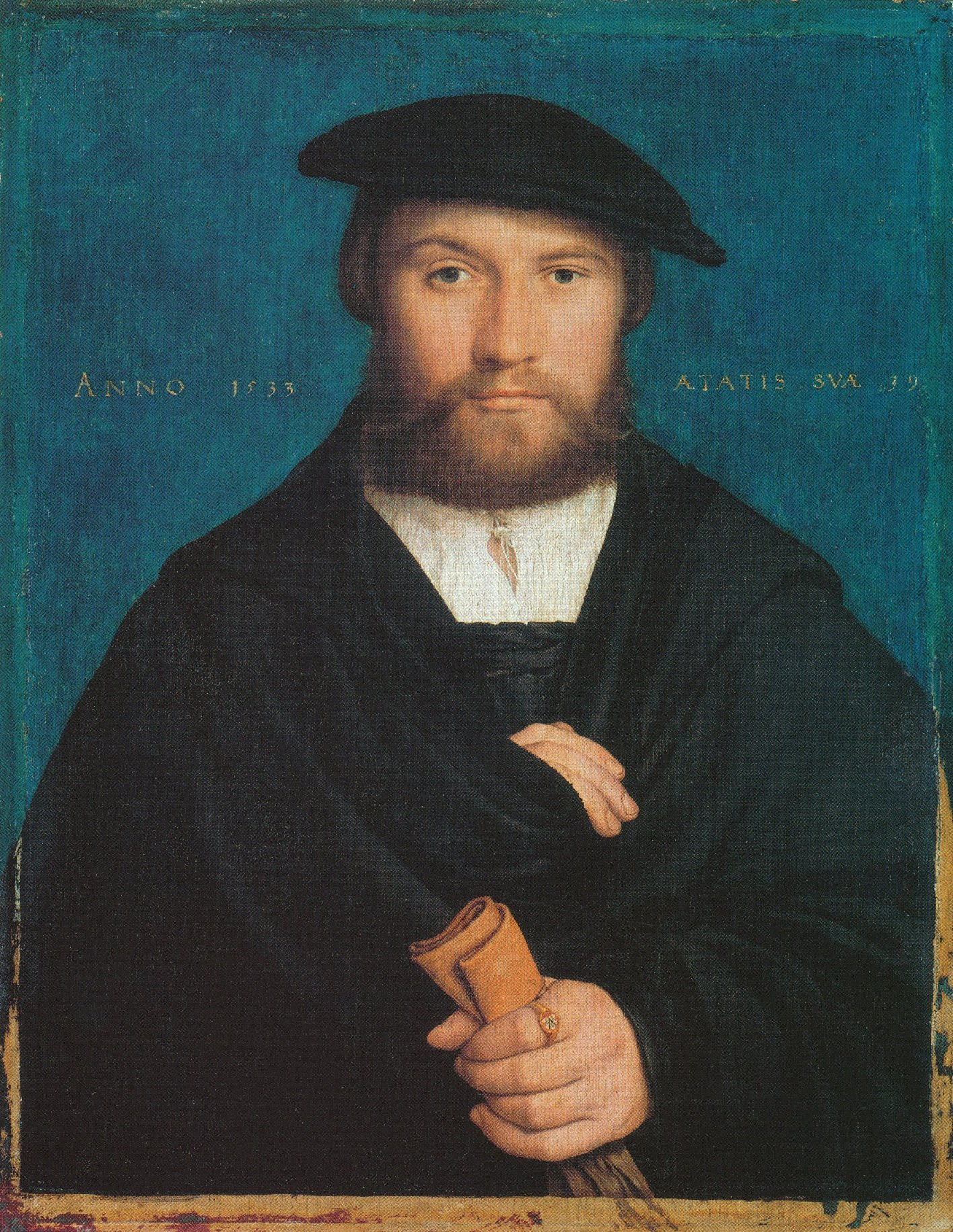 Portrait of a member of the von Wedigh Family (called Hermann Hillebrandt von Wedigh). 1533