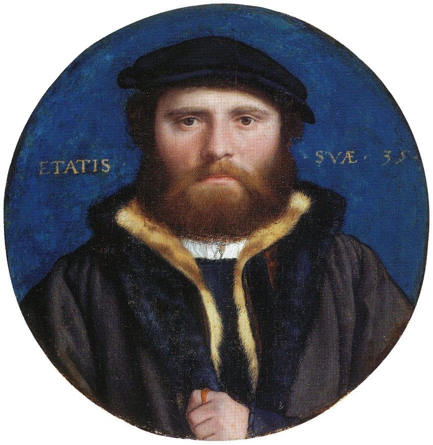 Portrait of an Unidentified Man, possibly the goldsmith Hans of Antwerp. c.1535-40